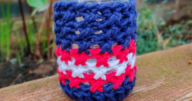 Crochet Can and Glass Bottle Cozy