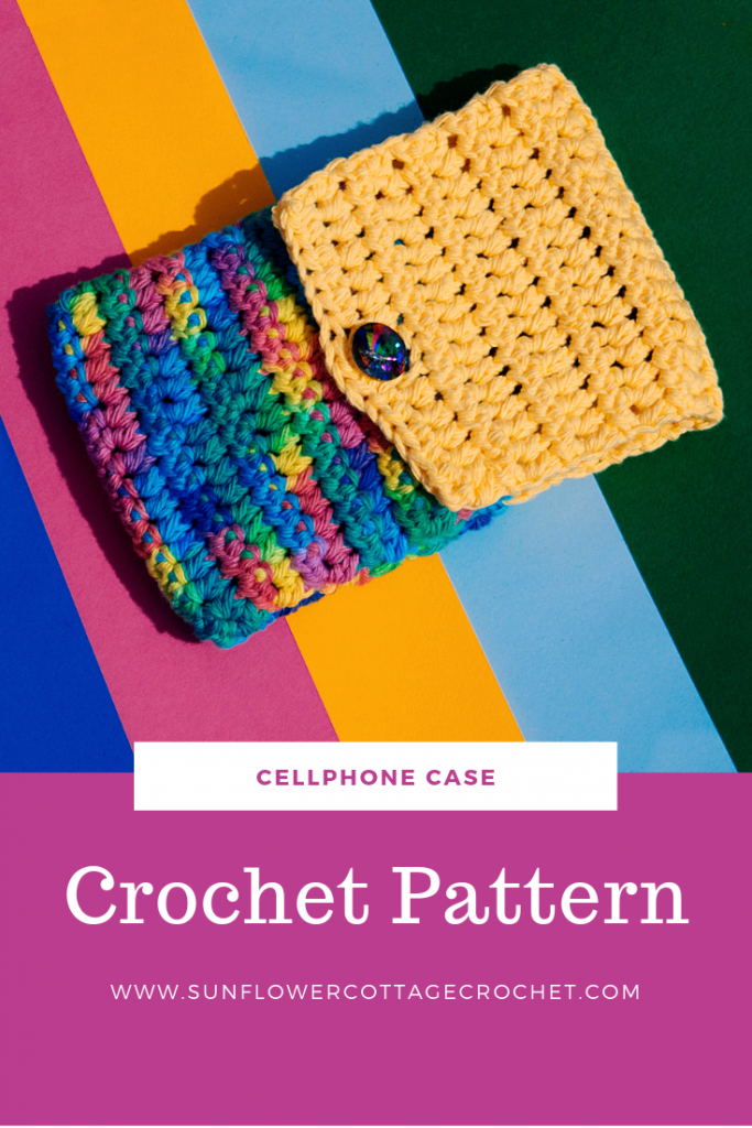 crochet phone case patter