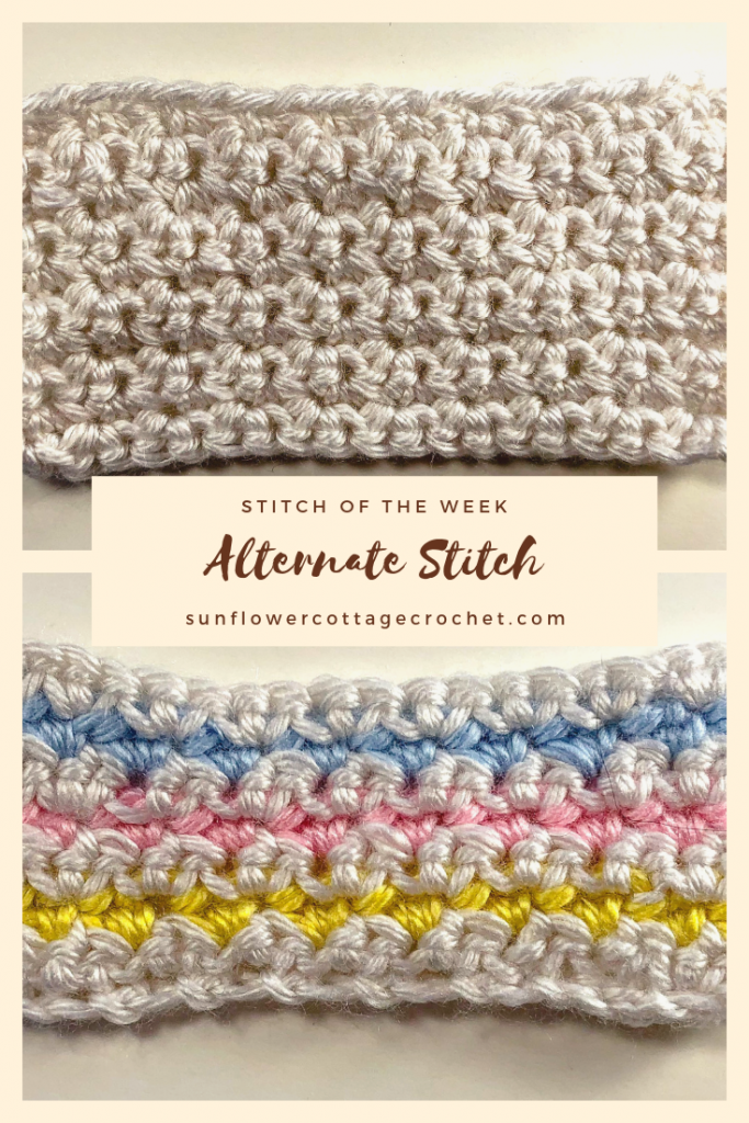 alternate stitch crochet tutorial