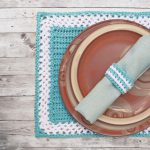 Crochet pattern for table set