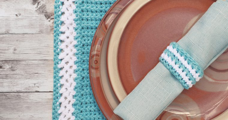 Crochet Patterns for Table Set