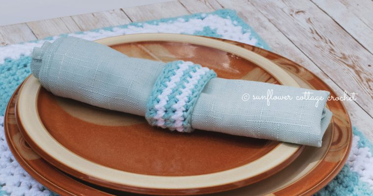 Crochet Napkin Ring Free Pattern