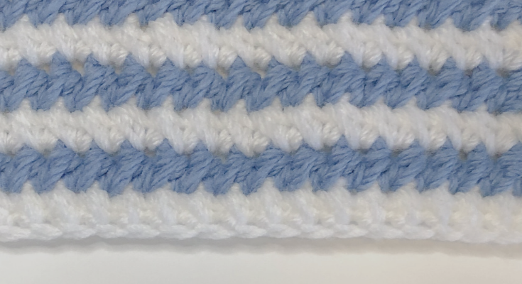 Stitch of the Week: Paired HDC