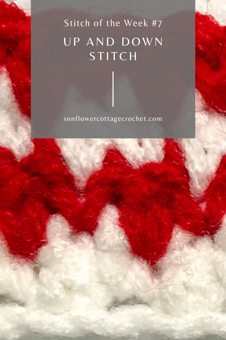 up and down stitch crochet