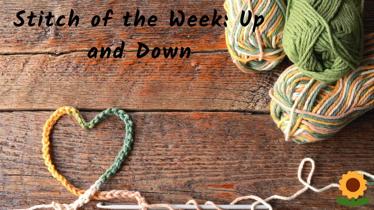 Up and Down Crochet Stitch Tutorial
