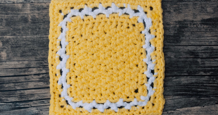 Spider Stitch Coaster Free Crochet Pattern