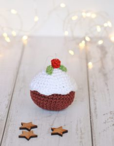 Figgy Pudding Christmas Bauble