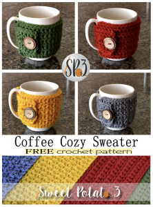 Coffee Cozy Sweater Wrap