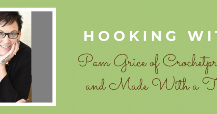 Hooking With Pam of The Crochetpreneur
