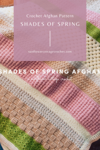 shades of spring afghan