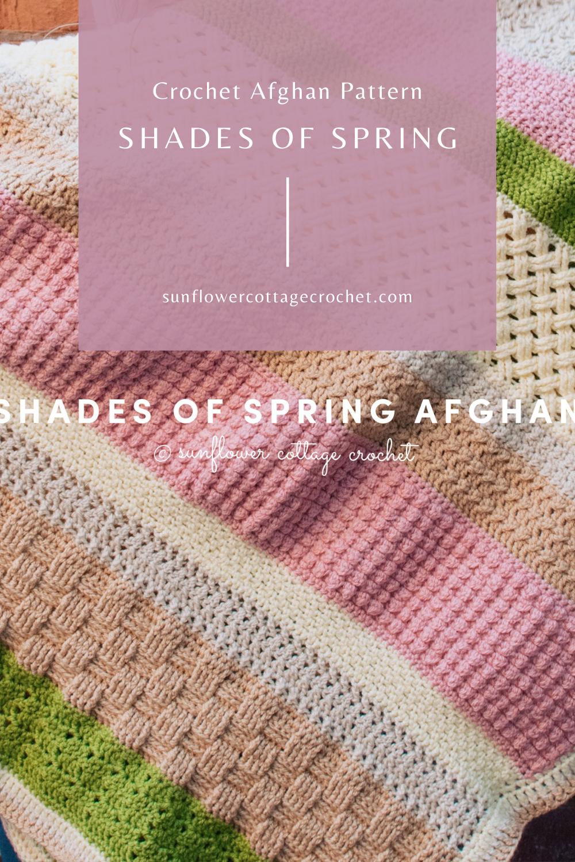 shades of spring afghan