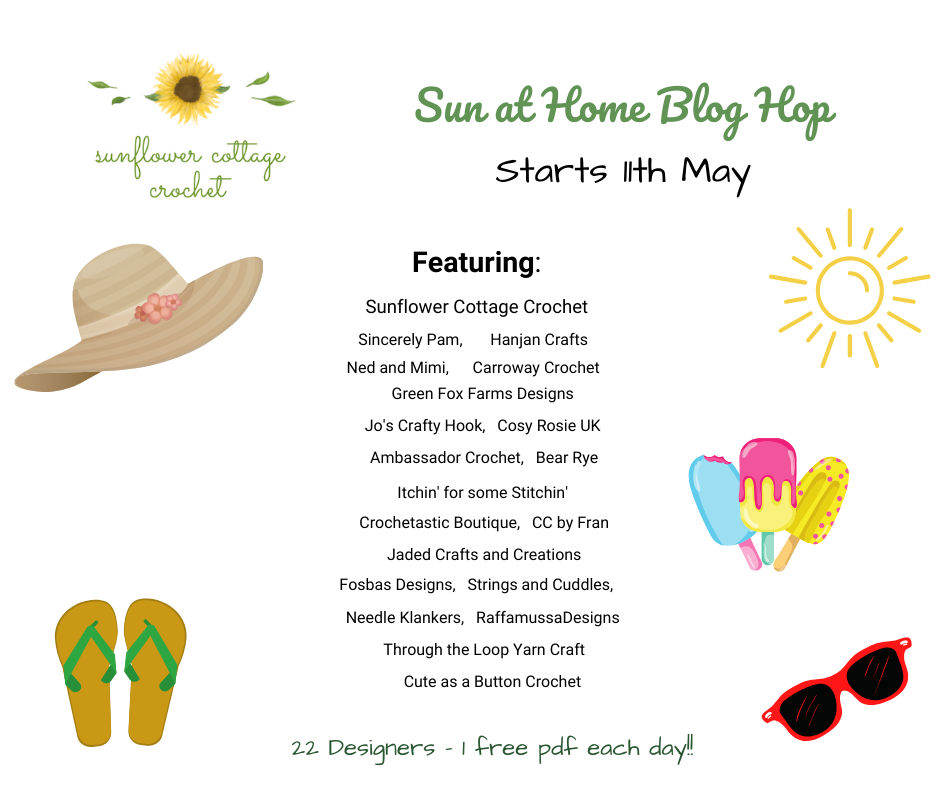 Sun at Home Event – Free Patterns