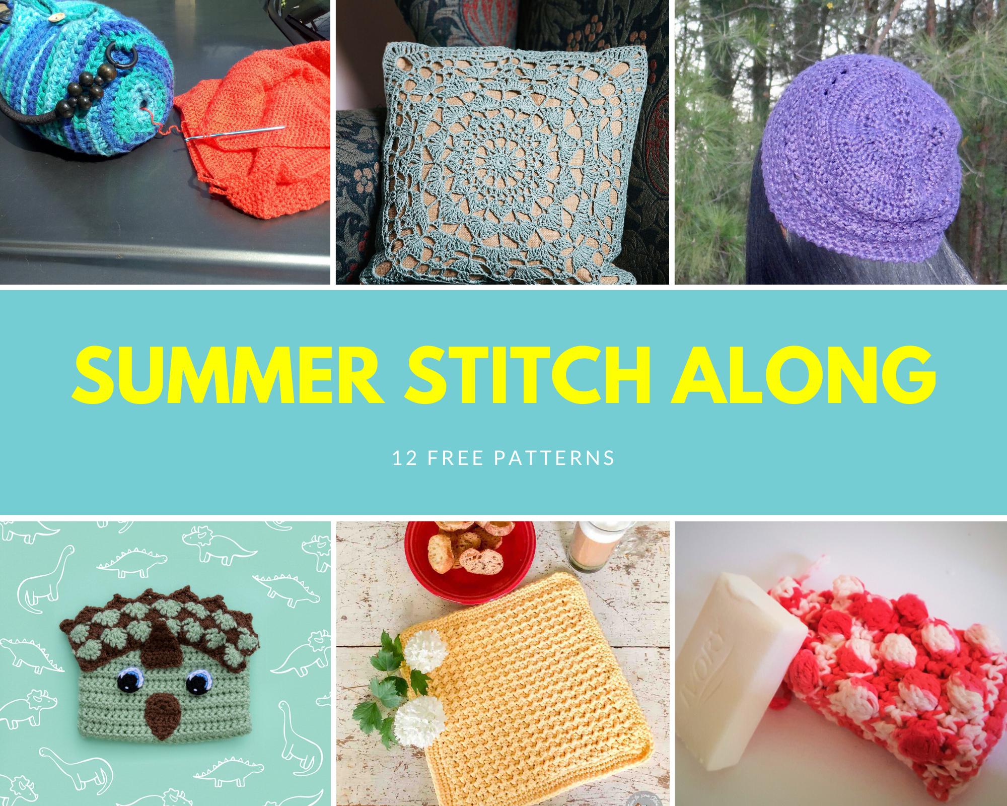 Summer Stitch Along Week 4