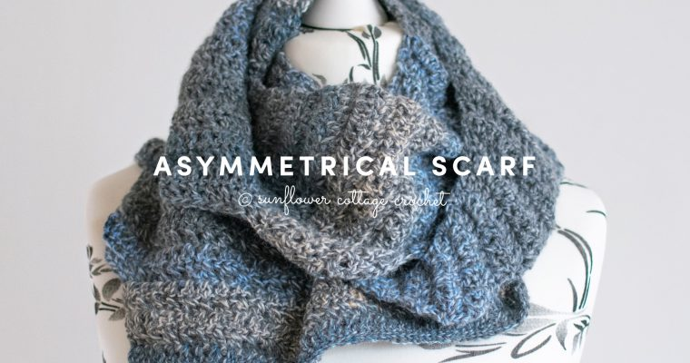Asymmetrical Scarf Crochet Pattern