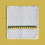 lemon drops washcloth
