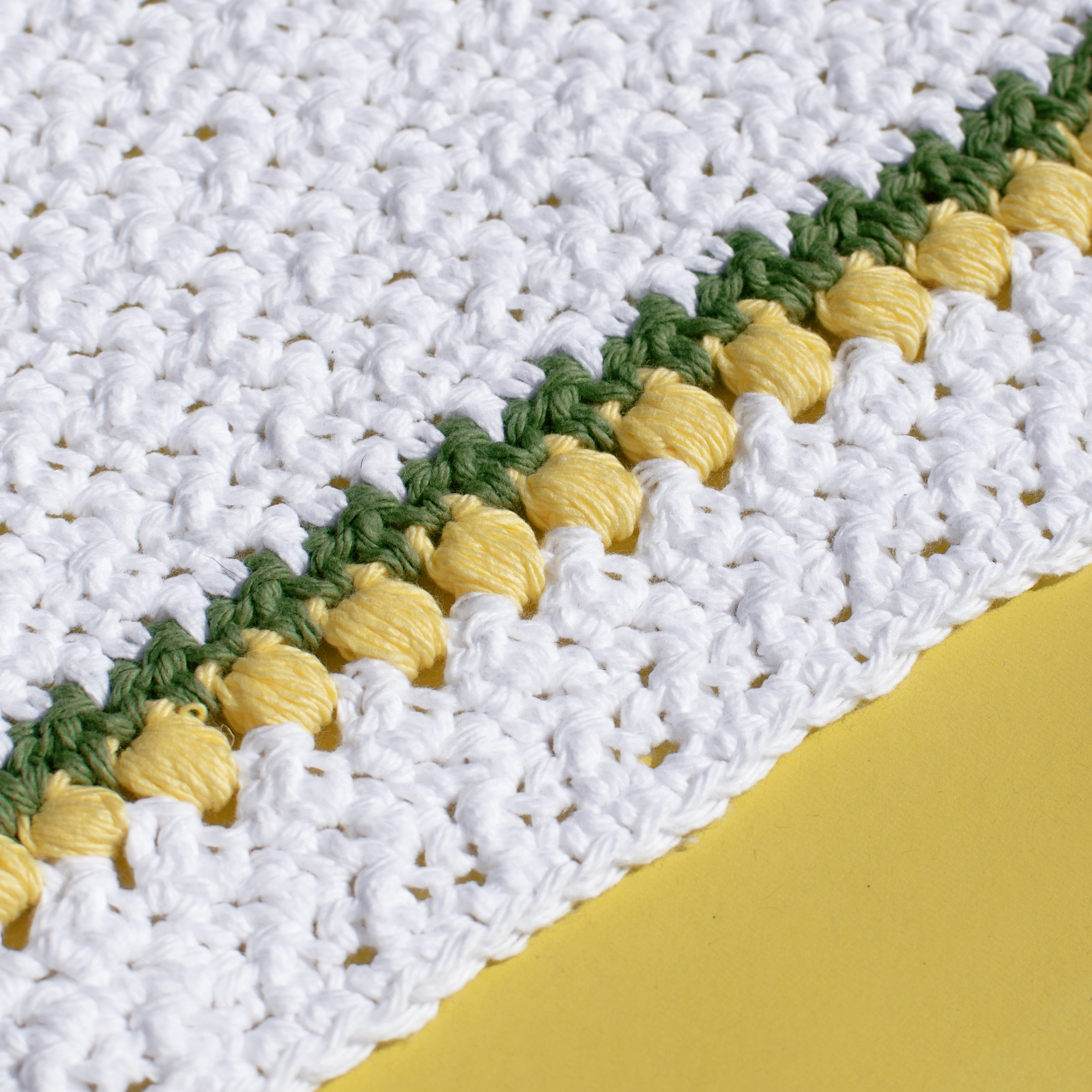 Lemon Drops Kitchen Crochet Set