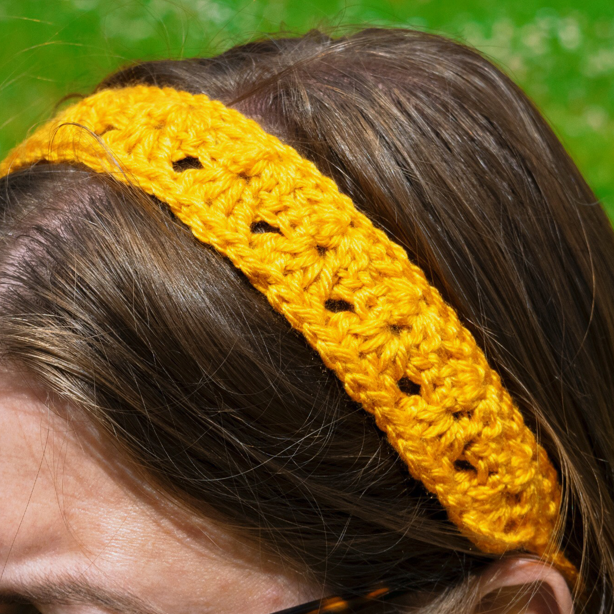 Iris Headband-Crochet Pattern