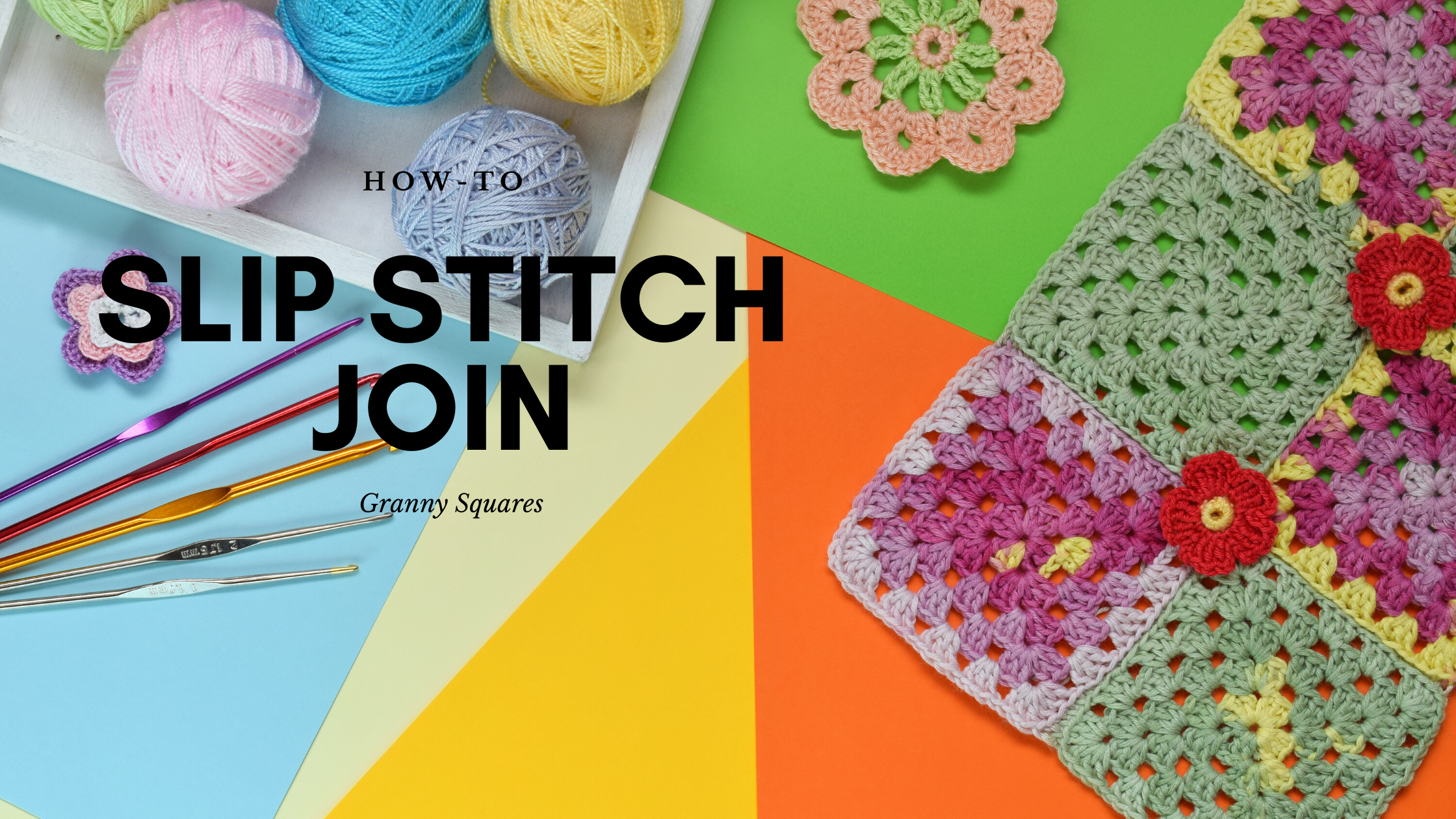 How To Crochet the Slip Stitch Join
