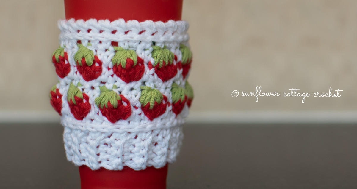 Introducing the Strawberry Coffee Beanie Cozy