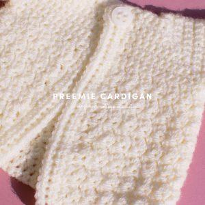 cardigan for preemie babies