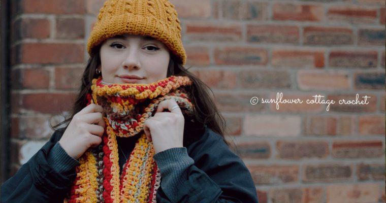 Autumn Roads Beanie & Scarf | Crochet Patterns