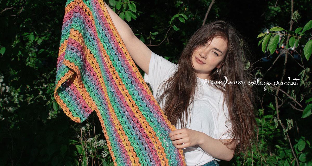 Joy Wrap – Free Crochet Pattern