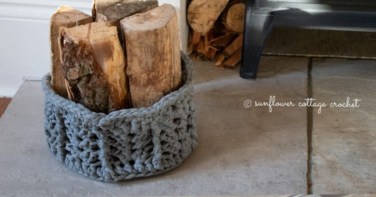 A Handy Storage Basket – Free Pattern