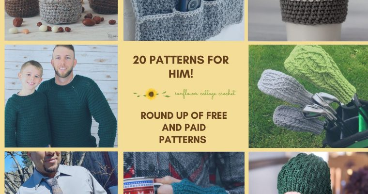 Round up of Patterns for Him!
