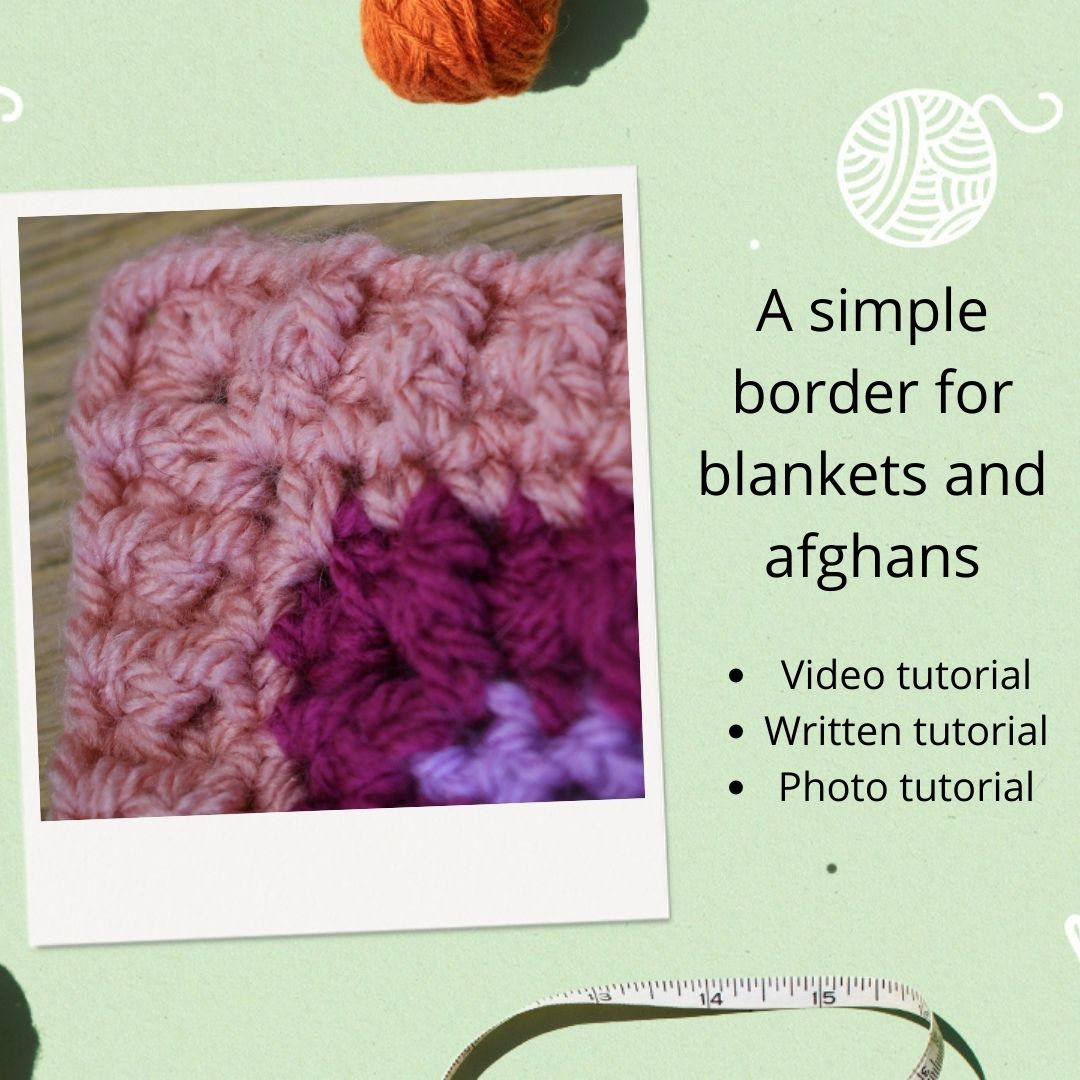 A Simple Border for Blankets and Afghans