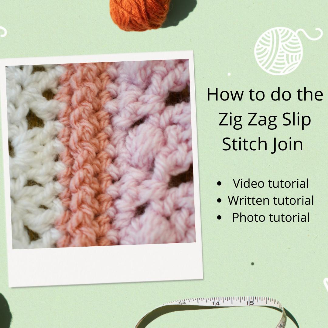 The Zig Zag Slip Stitch Join