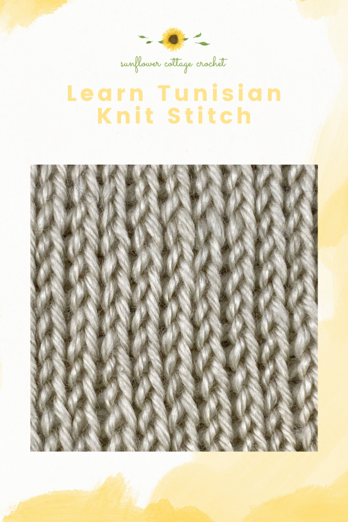 Learn Tunisian Knit Stitch