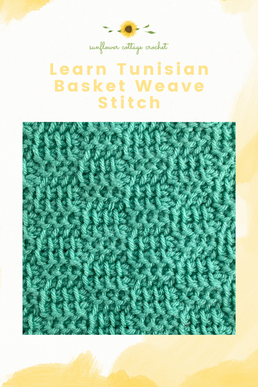 Tunisian Basket Weave