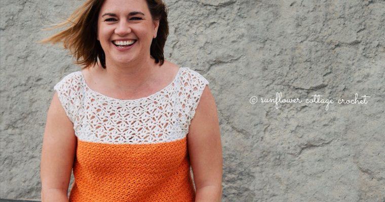 Sarah Tee – a gorgeous summer top