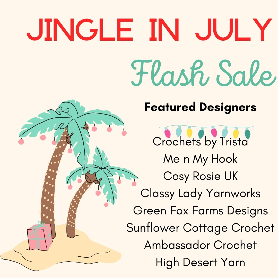 Jingle in July – Designer's Picks Patterns!