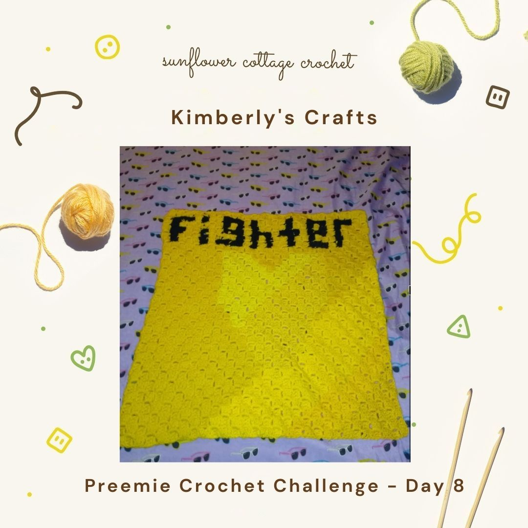 The 'Fighter' Blanket by Kimberly's Crafts