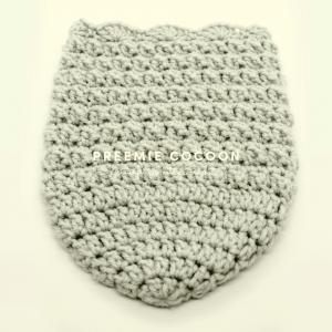 crochet preemie cocoon