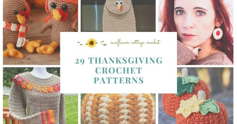 Thanksgiving Patterns Round Up!