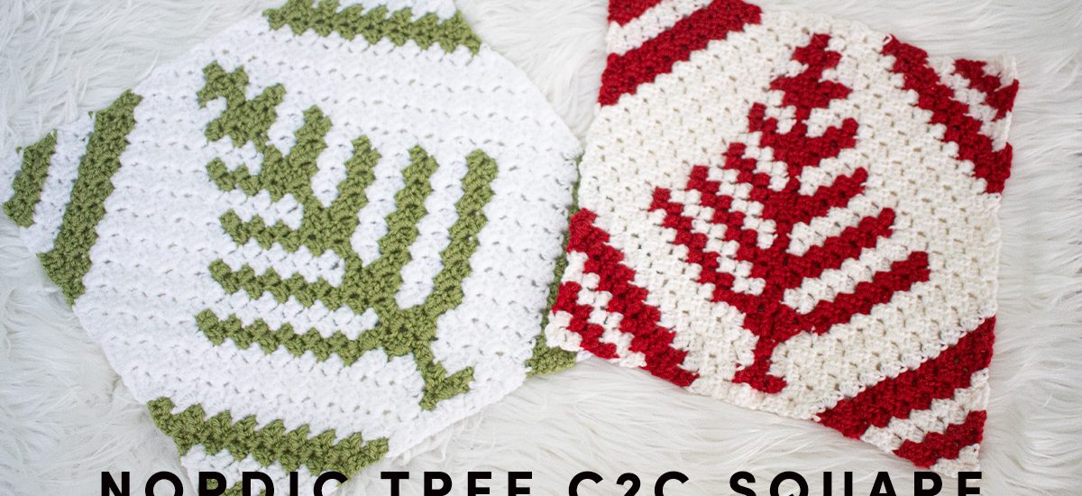 C2C Nordic Christmas Tree Square